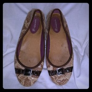 Sperry flats - great for the spring/summer